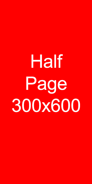half page banner